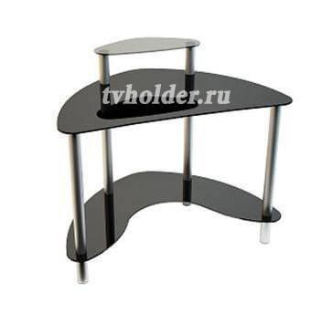 АКМА - Компьютерный стеклянный стол MIST-01