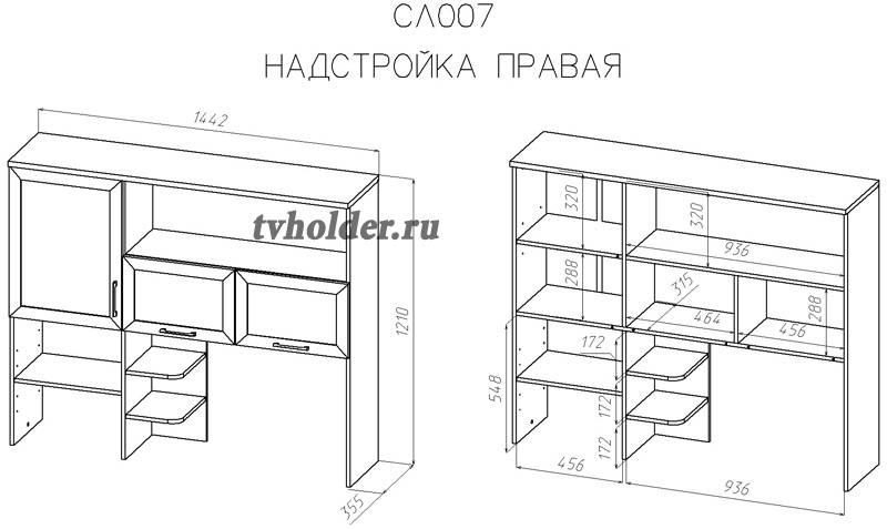 Васко - СОЛО-007. Надстройка для стола