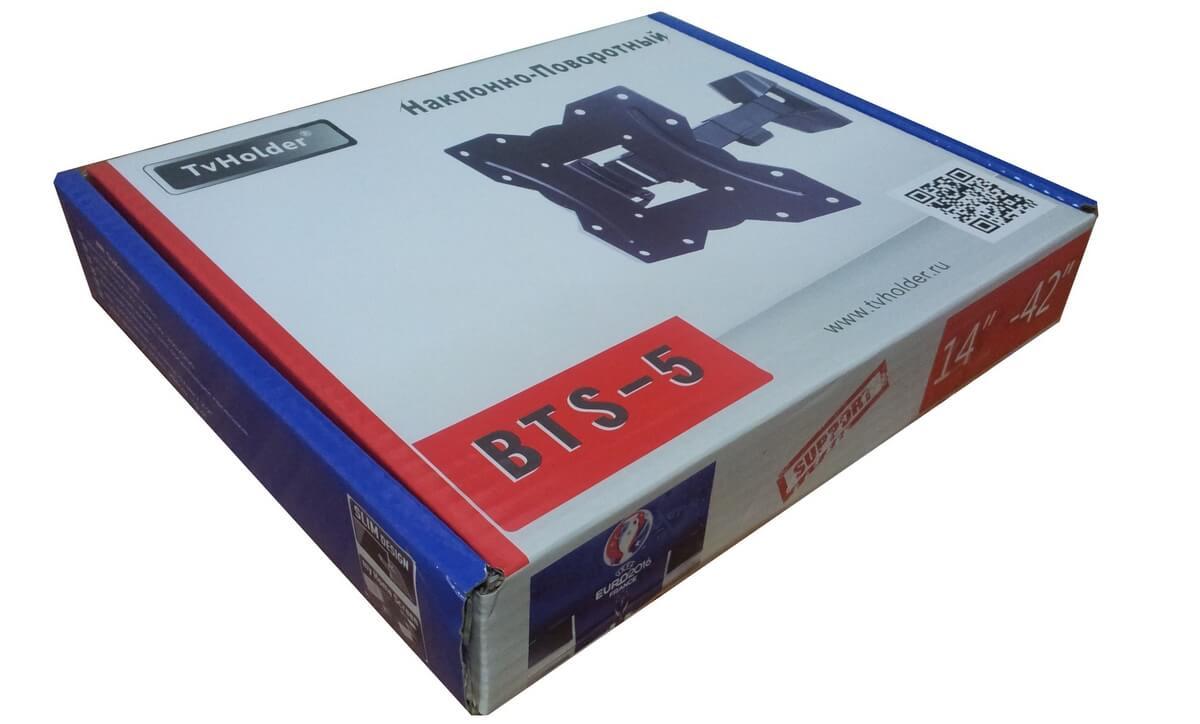 TvHolder - Кронштейн наклонно-поворотный BTS-5
