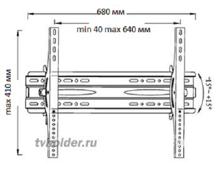 TVHolder - Кронштейн PWT-2