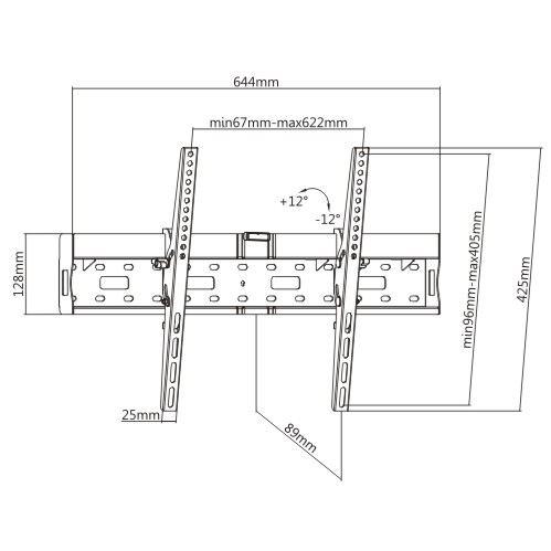 Tvholder - Кронштейн LP55-46TB2