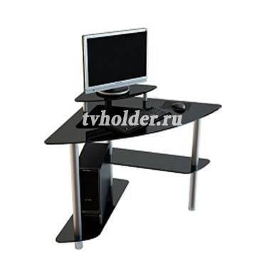 АКМА - Угловой стеклянный стол MIST-02