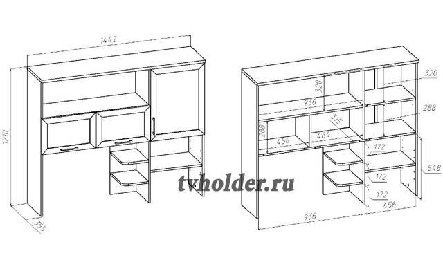 Васко - СОЛО-026. Надстройка для стола