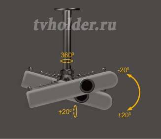 Zilla - Кронштейн для проектора ZPM-L45