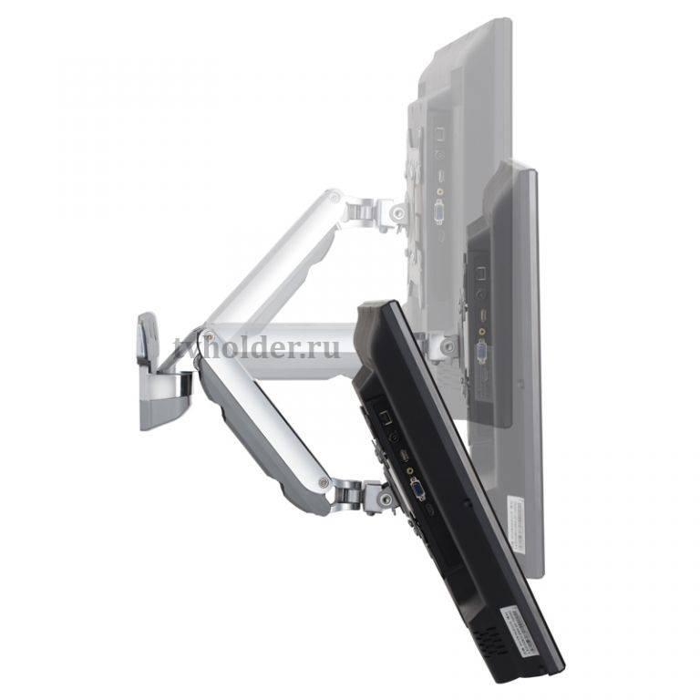 NB - Наклонно-поворотный кронштейн АКМА V3-201 с регулировкой по высоте