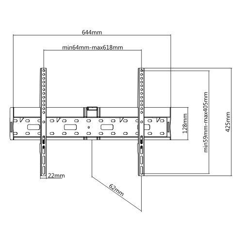 TvHolder  - Кронштейн фиксированный LP55-46FB2