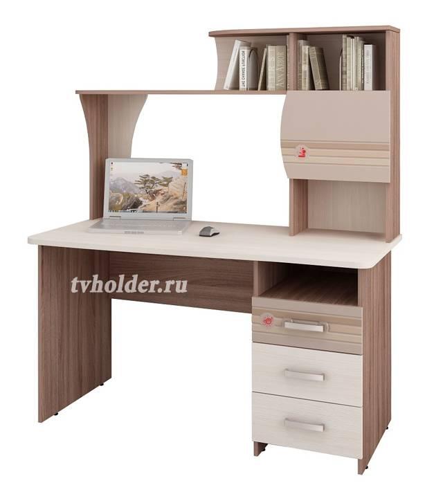 Витра - Компьютерный стол Британия 52.13 + надстройка 52.18