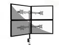 Подробнее о `TvHolder - Настольный кронштейн для четырех мониторов LDT 08-C04`