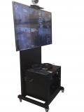 Подробнее о `TvHolder - Мобильный телекоммуникационный шкаф с ТВ стойкой TITAN-AX120СШ`