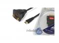 Подробнее о `DeLink - Переходник HDMIшт. - HDMIгн. + DVI-Dгн.`
