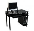 Подробнее о `АКМА - Компьютерный стеклянный стол NOIR-01`
